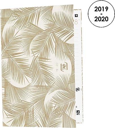 Oxford Nude Kraft - Agenda escolar diaria 2019-2020, 1 día, 352 ...