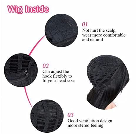 Amazon.com: ATOZWIG New Short Black Wigs Afro Kinky Curly Synthetic Wigs For Black Women Natural Cheap Hair Wig Pelucas Baratas Heat Resistant 14: Beauty