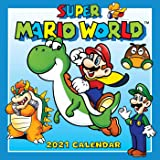 Super Mario World 2021 Wall Calendar