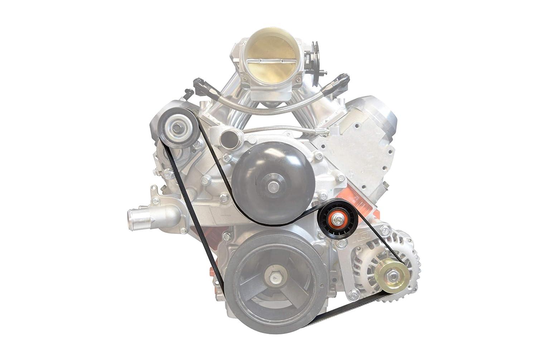 LS1 Alternator Only BELT /& PULLEY LSX LS Power Steering Delete 551550 ICT Billet