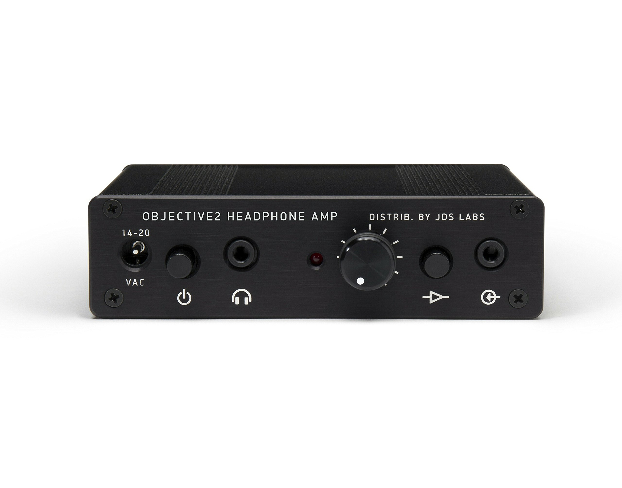 Genuine National JDSLABS Objective2 Black Edition By NwAvGuy Headphone Amplifier JDS LABS (Made in USA) by JDS LABS