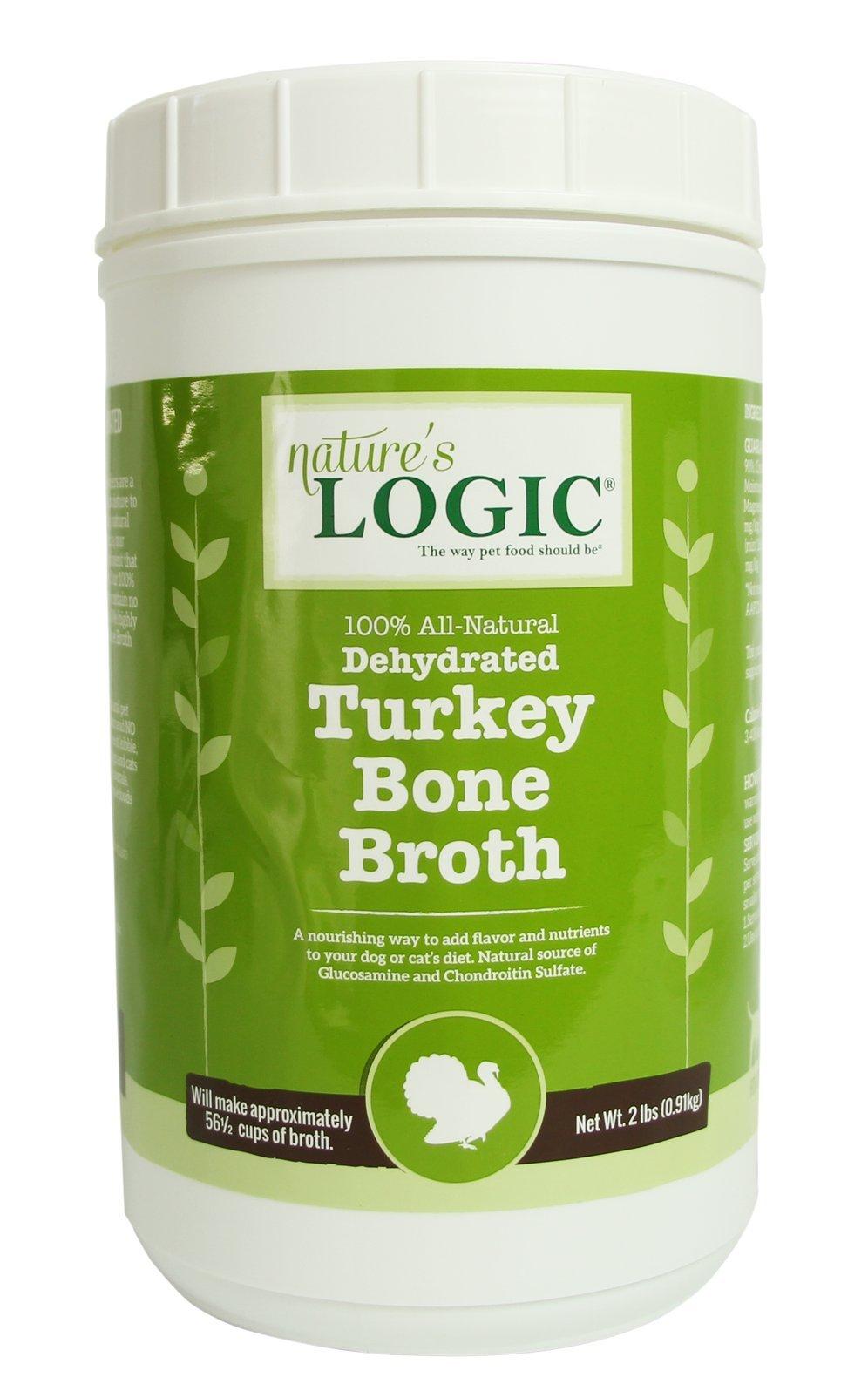 Nature'S Logic Dehydrated Turkey Bone Broth, 2Lb by NATURE'S LOGIC