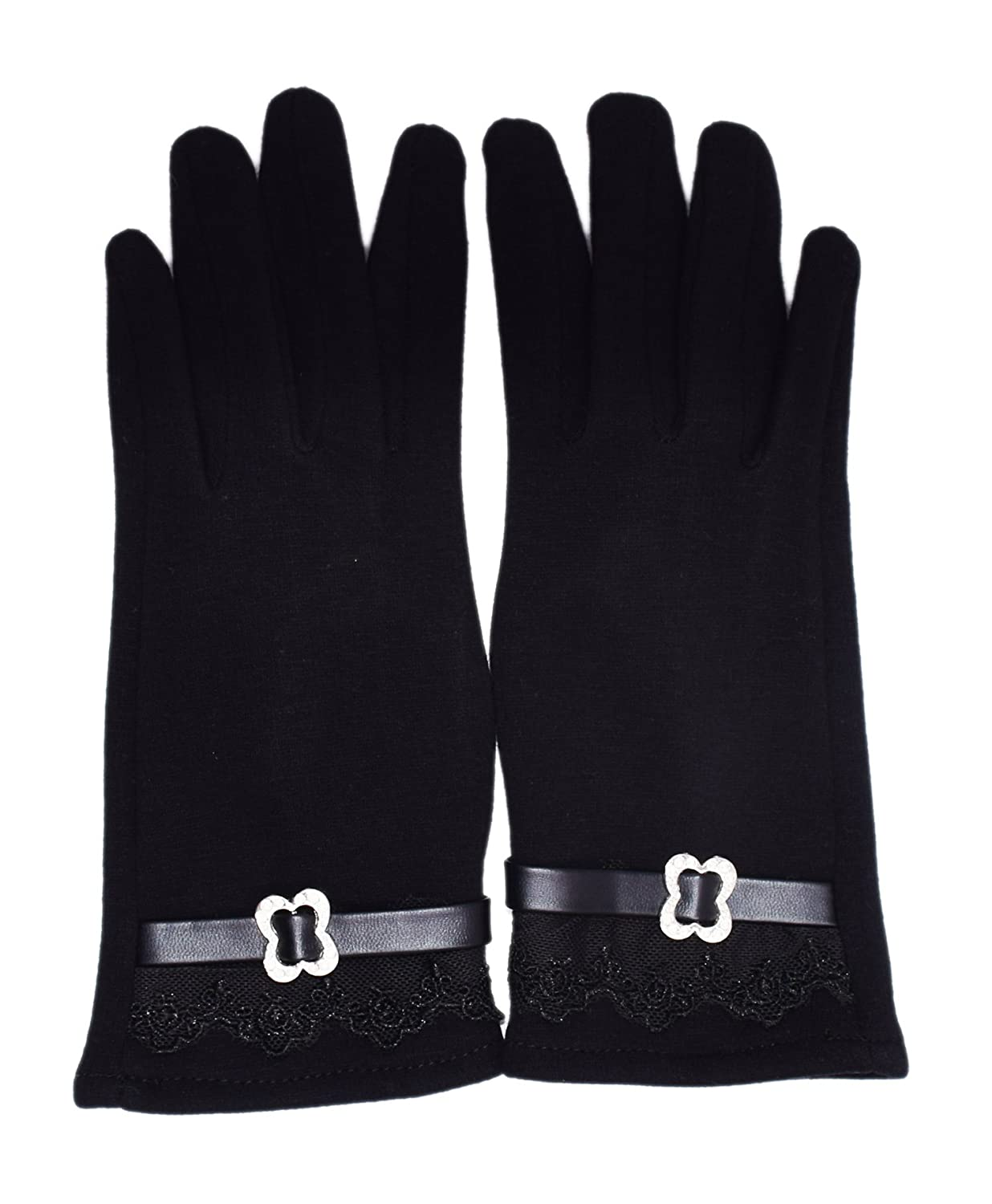 Comfy Polar Fleece Windproof//Coldproof Touch Screen Mittens Gloves for Women Ladies Ideal for Dress//Driving WITERY Womens Touch Screen Gloves Cycling//Motorcycle Camping//Running Gloves Witery Industrial