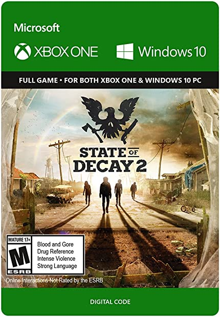 Amazon com: State of Decay 2: Standard Edition - Xbox One/Windows 10