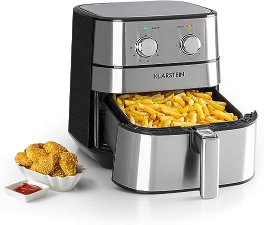 Klarstein AeroVital /• Friteuse /à air chaud /• 5,4L /• 1700W /• Thermostat /• Timer /• Acier inoxydable /• argent
