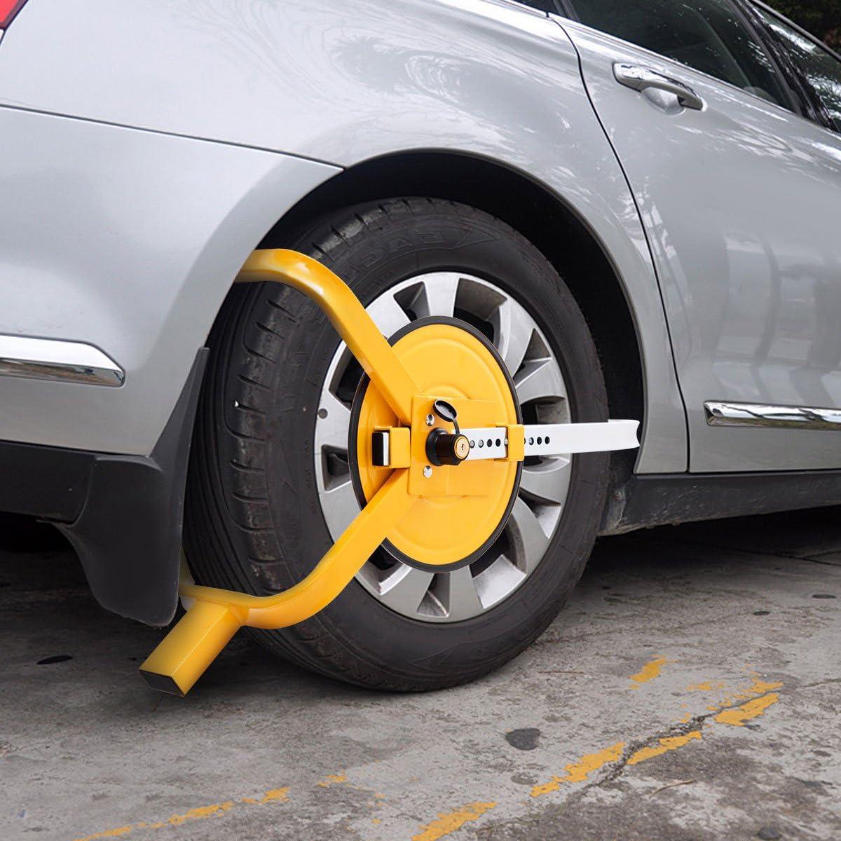 ANTIFURTO CERCHI artiglio immobilizzatore rimorchio auto