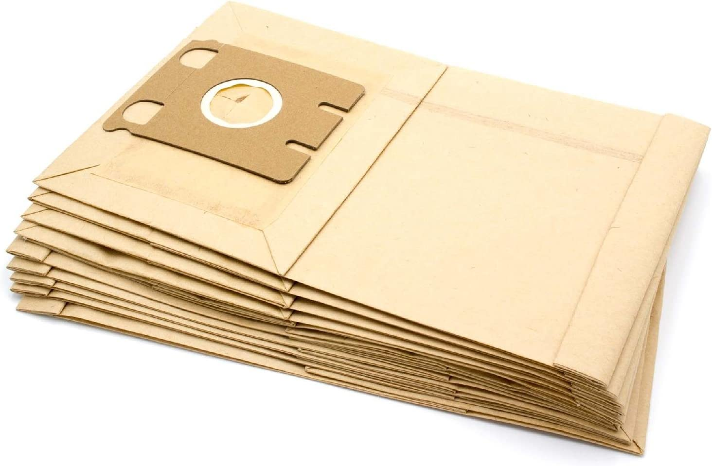 vhbw 10 Papier Staubsaugerbeutel Filtertüten passend für Staubsauger Saugroboter Miele S217, S218, S219, S220, S221, S222, S223, S224, S225, S226