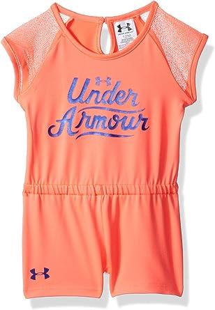 Pick SZ//Color. Under Armour Childrens Apparel Little Girls Primo Romper