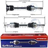 Left Right Fits 1999-2005 Suzuki Vitara 2001-2003 XL-7; 1999-2004 Chevrolet Tracker DTA SK93919390-2 New Front CV Axles Grand Vitara