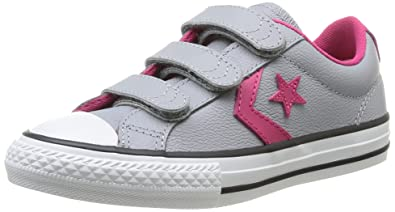 converse star player junior 3v leather