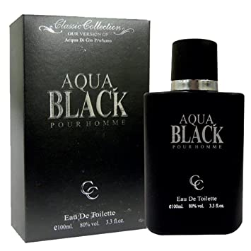 Aqua Black GIO Profumo Perfume For Him 3.3 oz Eau de Toilette (Imitation)