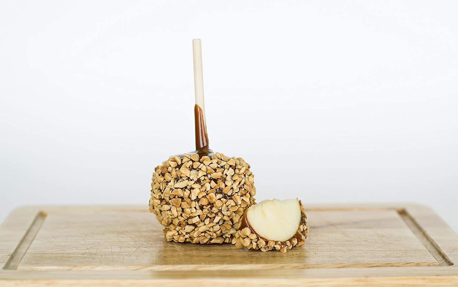 12 Individually Packaged Classic Caramel Apples with Peanuts