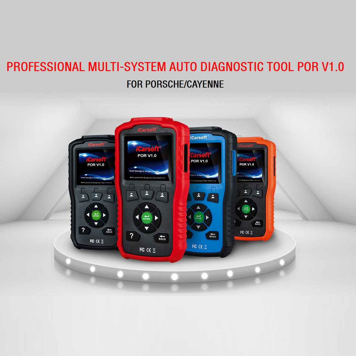 iCarsoft Auto Diagnostic Scanner POR V1.0 for Porsche with Airbag Scan,Oil Service Reset ect by iCarsoft (Image #5)