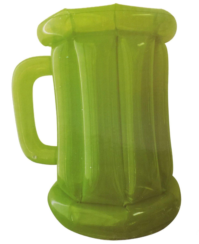 Verde hinchable jarra de cerveza refrigerador: Amazon.es: Jardín