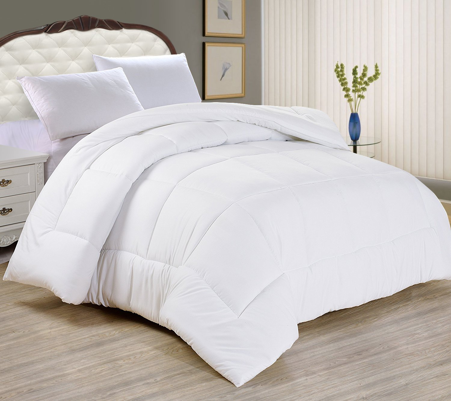 Superior Amazon.com: Night Guard   Goose Down Alternative Comforter   90Gsm   Ultra  Soft, Plush Blanket   Comfortable Bedspreads Used As A Throw, Duvet Insert  Or ...