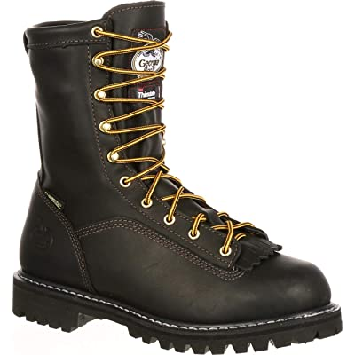 Georgia Boot Lace-To-Toe Gore-Tex Waterproof Insulated Work Boot: Shoes