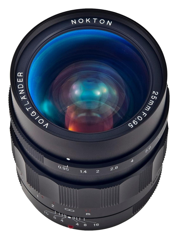 Voigtlander NOKTON 25 mm F / 0.95タイプIIマニュアルフォーカスレンズMicro 4 / 3マウント   B00IGQV17Q