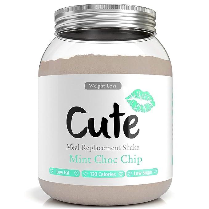 10 opinioni per Cute Nutrition Shake Menta al Cioccolato Sostitutivi del Pasto per la Perdita e