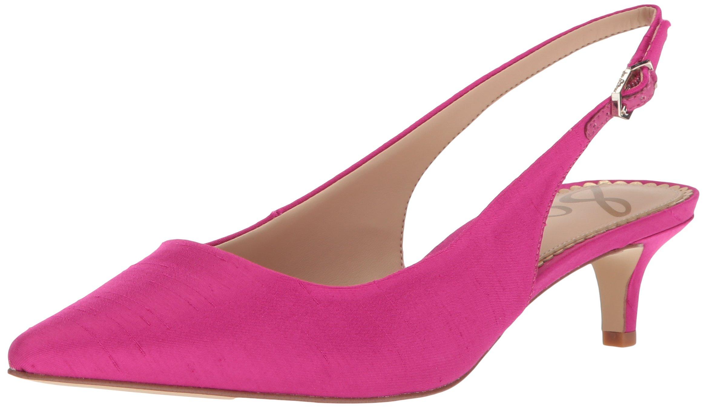 Sam Edelman Women's Ludlow Pump, Pink Magenta, 7.5 Medium US