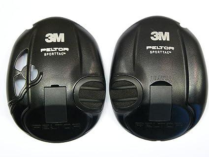 Cascos negros para Peltor Sporttac