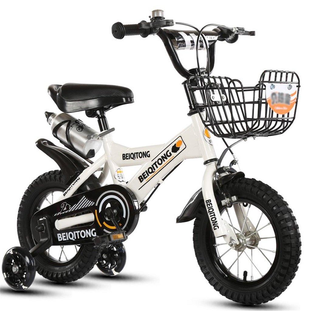 子供の三輪車の自転車1-3歳の赤ちゃんのベビーカー2-6赤ちゃんのベビーカー3輪の自転車大白 (サイズさいず : 16 inch) B07F2KBCDS16 inch