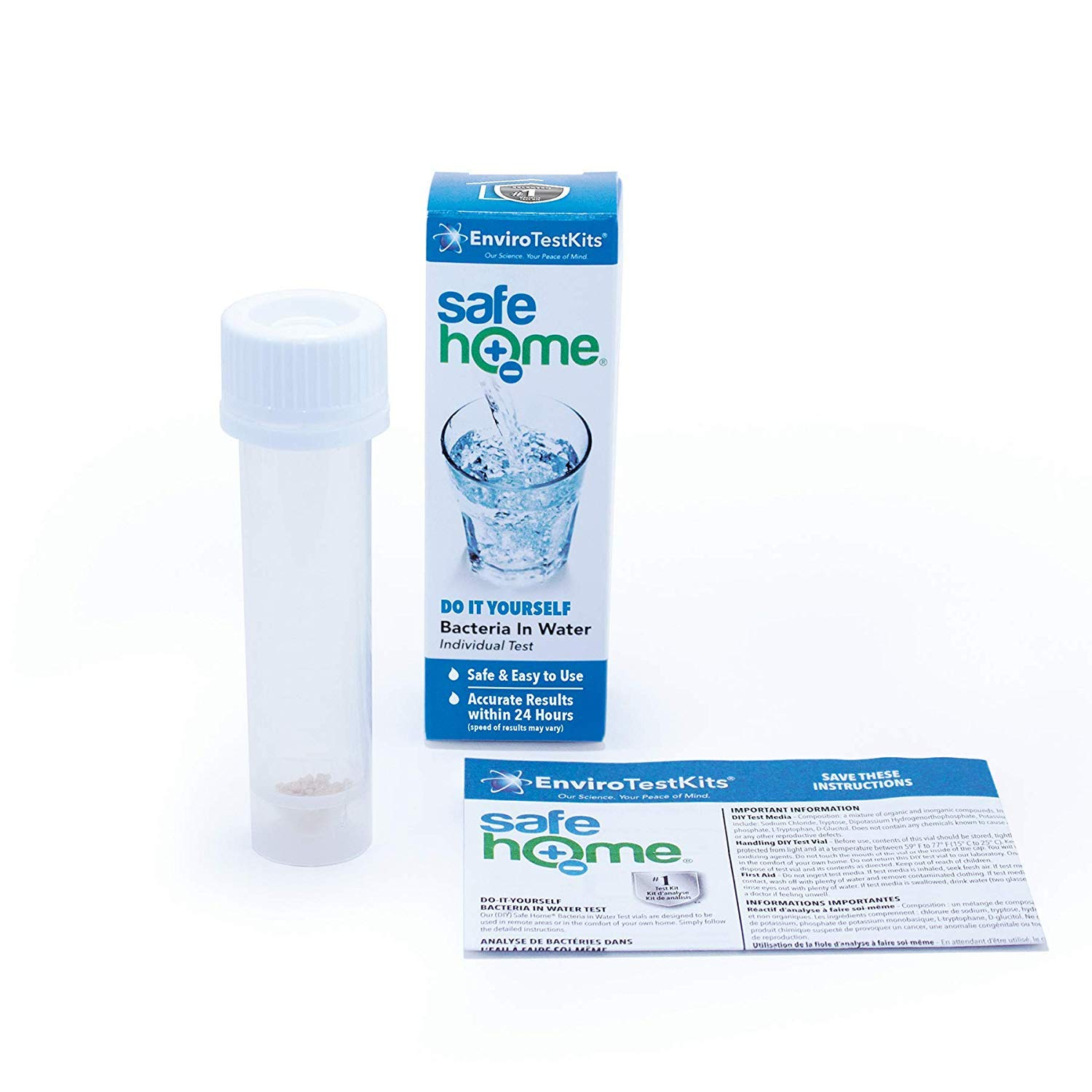 Safe Home DIY BACTERIA in Drinking Water Test Kit
