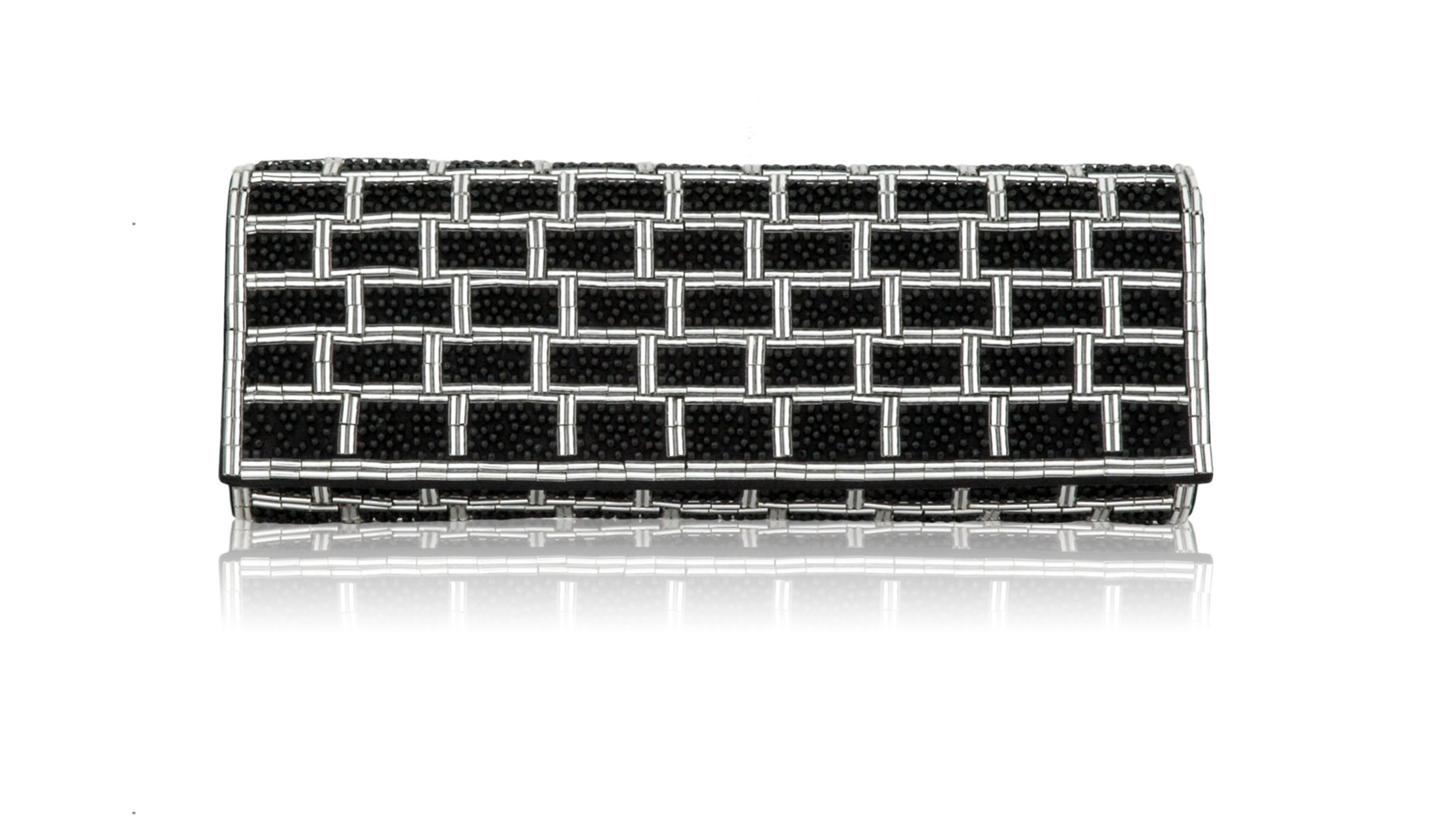 Inge Christopher Zena Beaded Flap Clutch by Inge Christopher