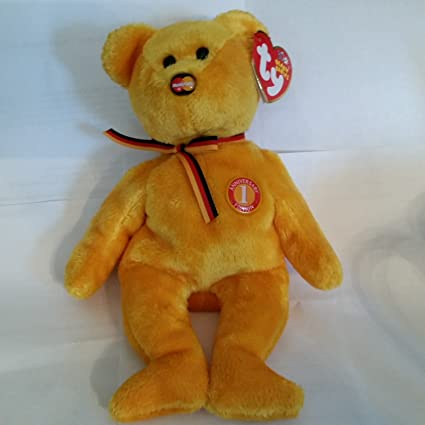 9e832333242 Image Unavailable. Image not available for. Color  TY Beanie Baby - MC  MASTERCARD Bear ...