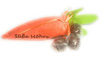 Dulce zanahoria hecha a mano llena con 6 bombas de ...