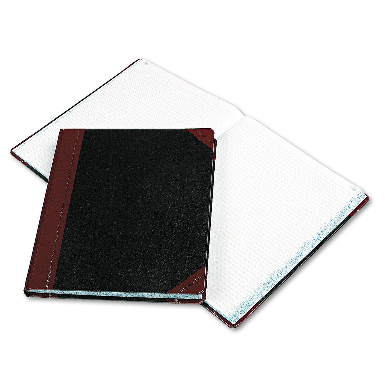 Boorum amp;amp; Pease 1602123F - Columnar Book, Black Cover, 300 Pages, 12 1/4 x 10 1/8