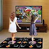 WGE Hd Tarjeta Doble Alfombra De Baile Ilimitado Descargar Televisión Computadora Uso Dual Más Grueso Maquina De Bailar