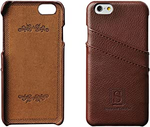 Simons of London iPhone 6/6s Luxury Leather Case with Slots for ID/Bank Cards   Ultra Slim Fit Cases