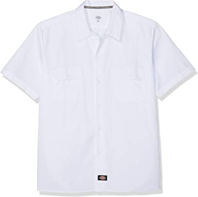 Dickies Short Sleeve Slim Work Shirt Camiseta de Trabajo para Hombre: Amazon.es: Ropa y accesorios