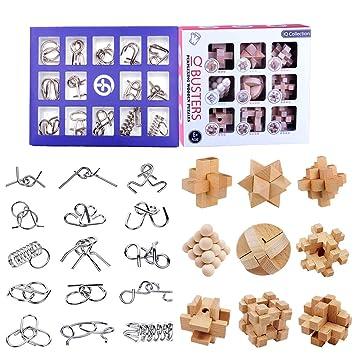 Borok Rompecabezas Metal 24pack 3d Puzzles Adultos Juegos De