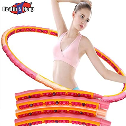 2.8kg Hula Hoop  Weight Fitness Health Exercise Massage Ball Magnetic