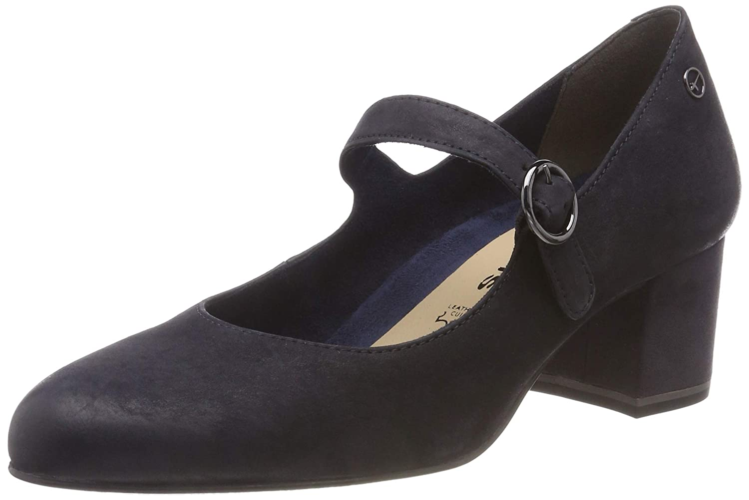 Blau (Navy Nubuc 827) Tamaris Damen 24401-21 Pumps