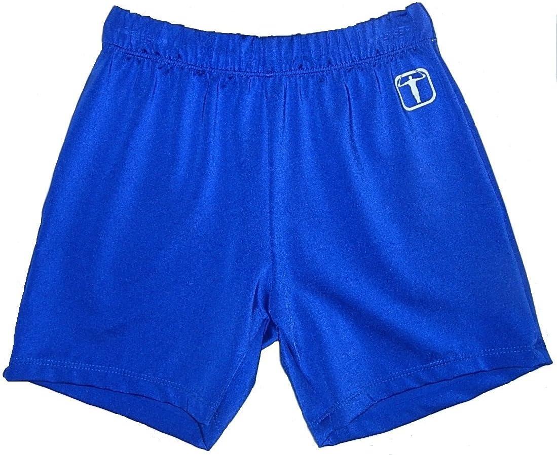 ボーイズ、メンズ体操Longer Shorts – のさまざまな色 ロイヤルブルー Adult Extra Small (small 10-11 year old)