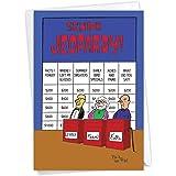 NobleWorks, Senior Game Show - Funny Birthday Greeting Card with Envelope 6291Z