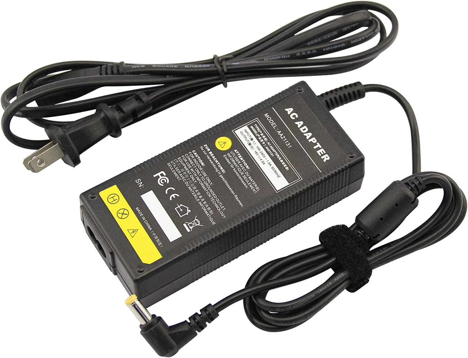 yan AC Adapter Charger for IBM ThinkPad 1400 1500 235 240 310 365 A31 E530 CF-AA1623