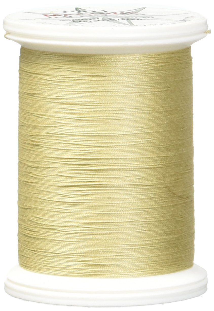 YLI 24450-02V 3-Ply 40wt T-40 Cotton Quilting Variegated Thread Cream//Brown 500 yd