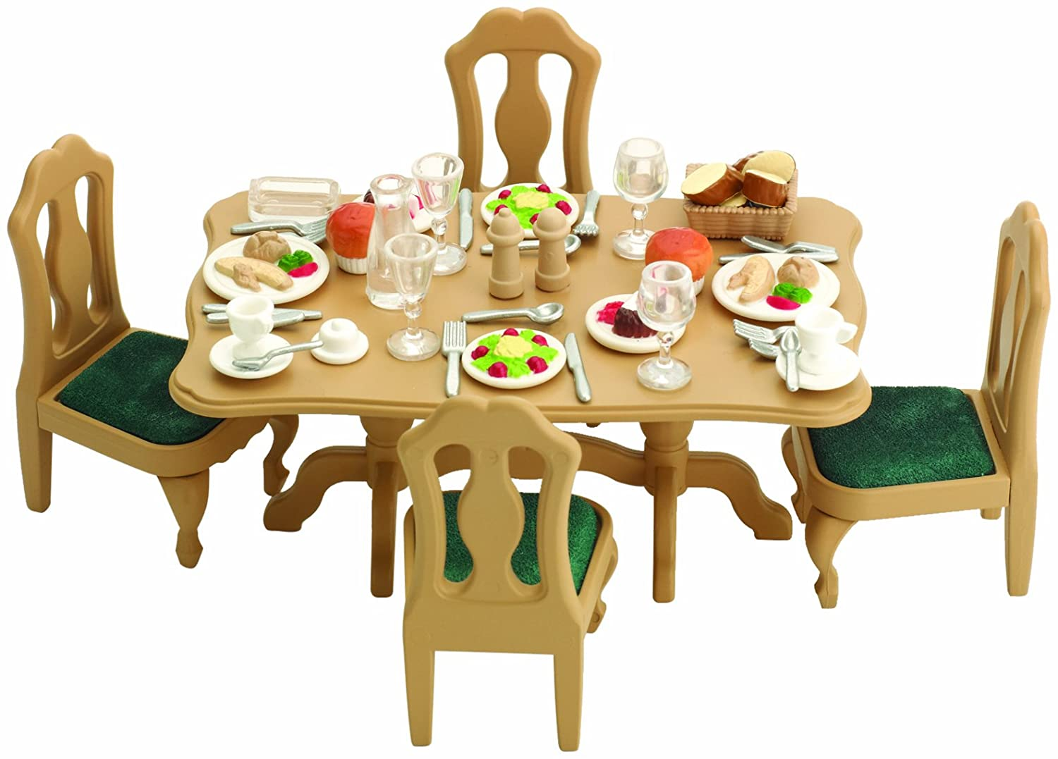 sc 1 st  Amazon UK & Sylvanian Families Dining Room Set: Amazon.co.uk: Toys u0026 Games