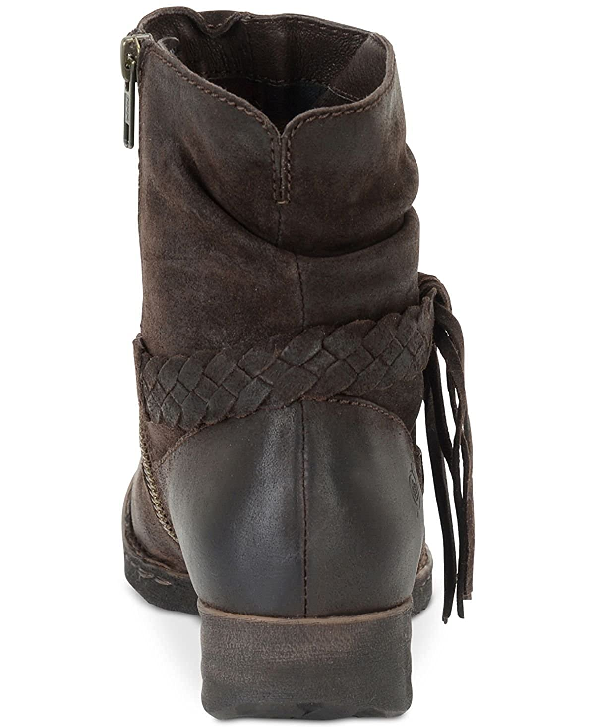 Born Frauen Abernath Geschlossener Zeh Leder Leder Leder Fashion Stiefel Braun Groesse 8.5 US  39.5 EU 904a7b
