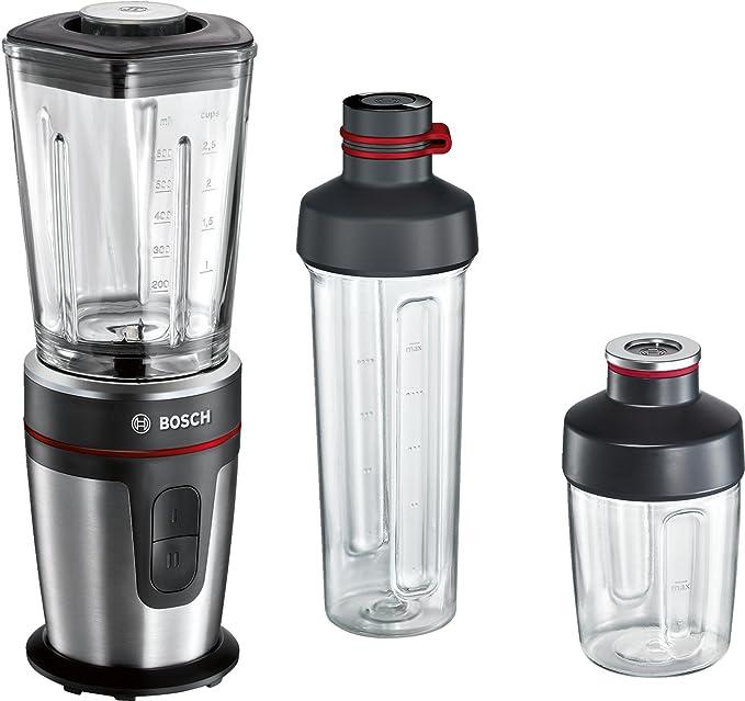 Bosch MMBM7G3M VitaStyle Mixx2Go Batidora de vaso, 350 W, 600 ml, color negro: Amazon.es: Hogar