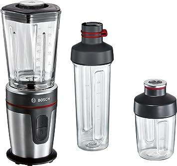 Bosch VitaStyle Mixx2Go MMBM7G3M - Batidora de vaso individual (350 W, jarra de vidrio