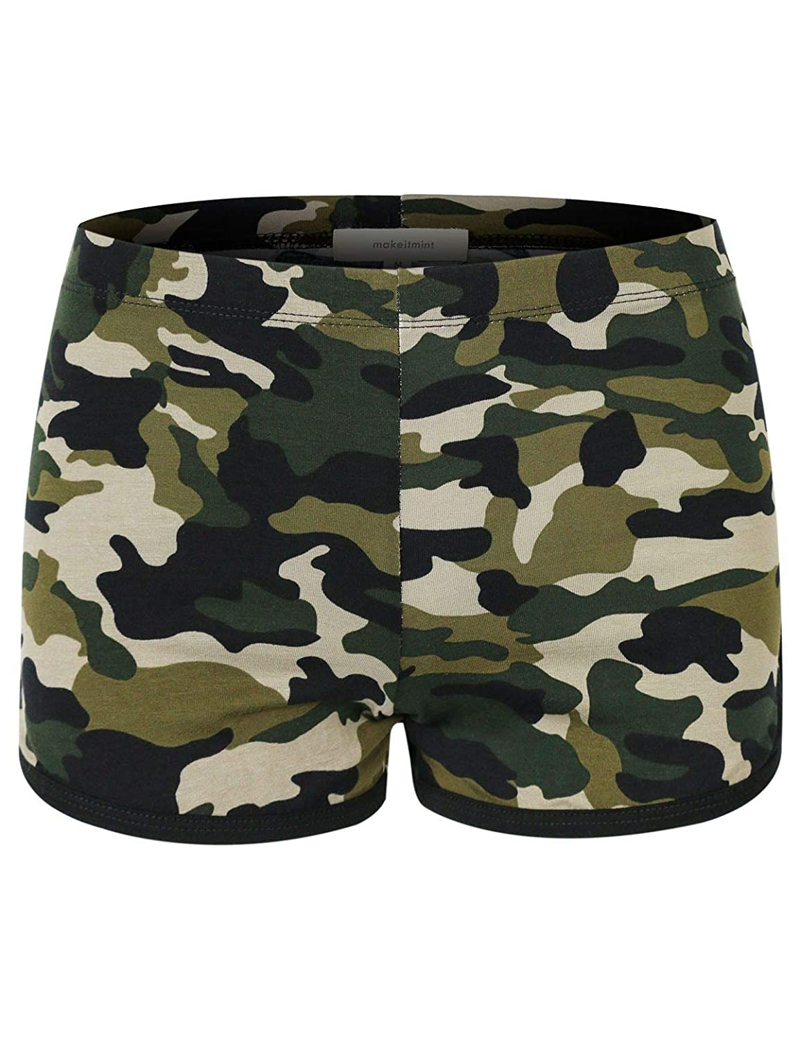 2e6420420a53a makeitmint Women's Comfy Camouflage Athletic Yoga Gym Training Workout  Shorts at Amazon Women's Clothing store: