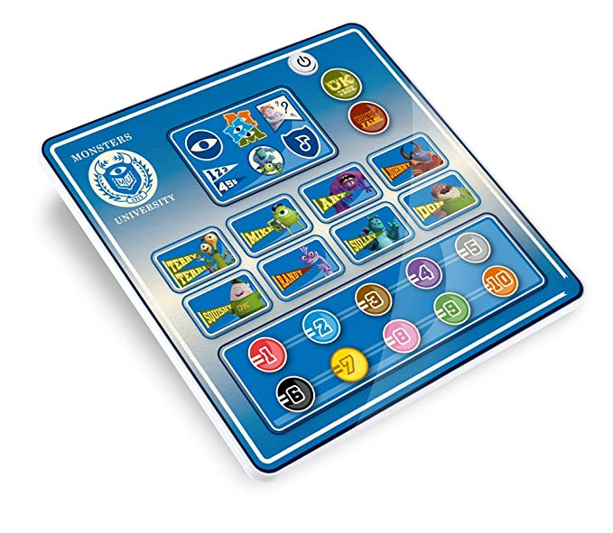 Inspiration Works - S1142 - Jeu Educatif Electronique - Tablette Monstres Academy