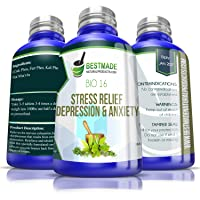 Stress Relief, Depression & Anxiety Bio16, 300 pellets, Effective Relief from Symptoms...