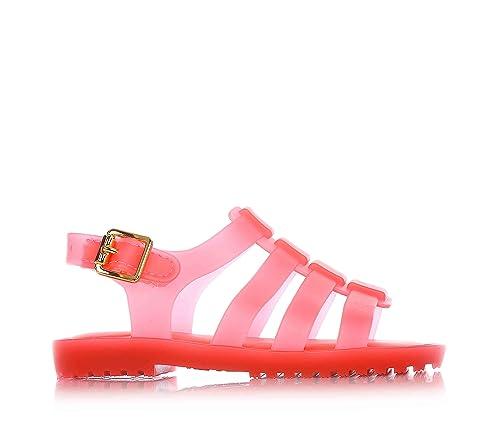elegante y elegante gran venta varios colores MINI MELISSA - Sandalia roja en plástico Melflex, goma ...