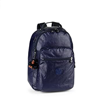 a990a87fd70 Kipling - CLAS SEOUL - Mochila grande - Lacquer Indigo - (Púrpura)   Amazon.es  Equipaje