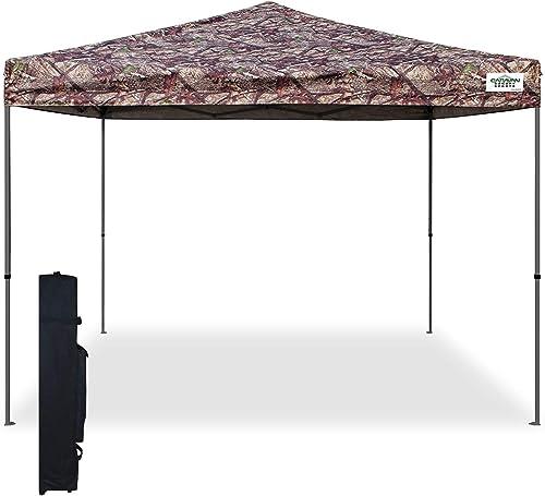 Caravan Canopy 21007900010 10x10 V-Series, 10 x10 base 10 x10 top, Camoflage